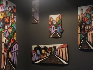 the favela, art impression